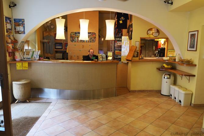 Hostel Ruthensteiner lobby