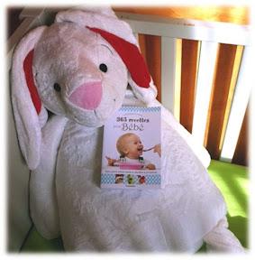 jeu concours guigoz lapin peluche et livre de recettes pour bébé