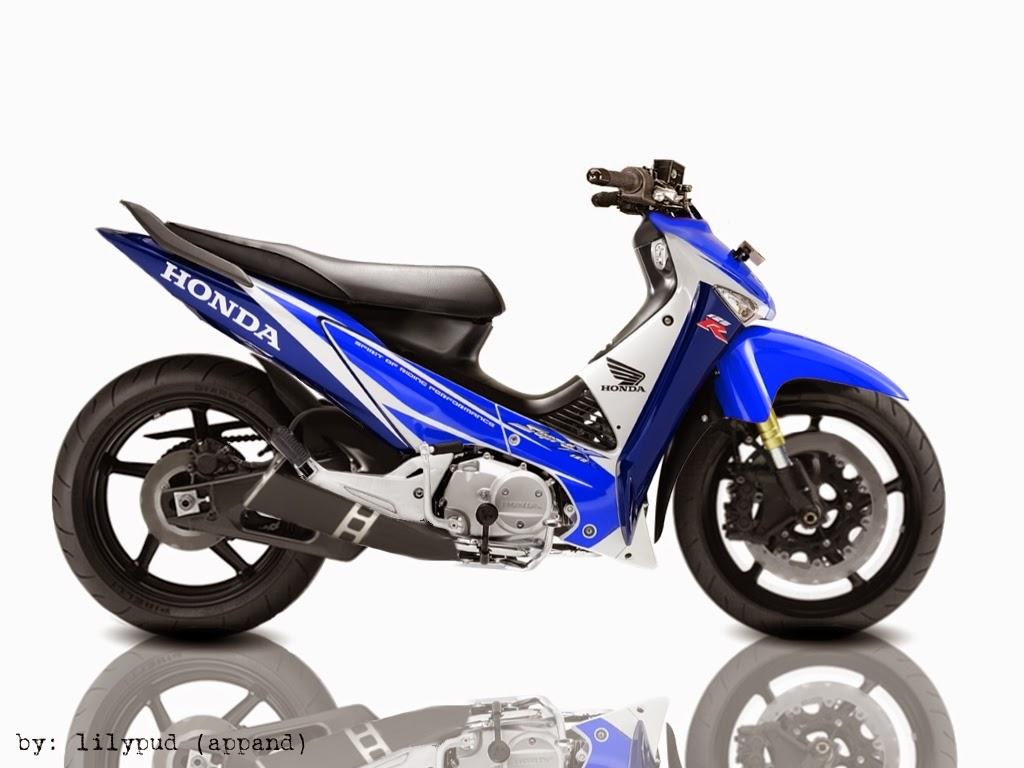 Supra X 125 Modifikasi Road Race
