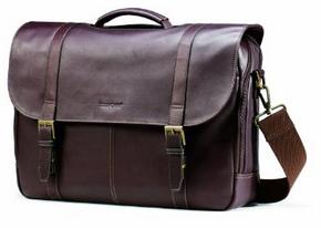buy Samsonite Columbian Leather Flapover Case