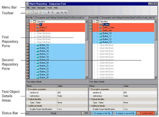 Object Repository Comparison tool in QTP