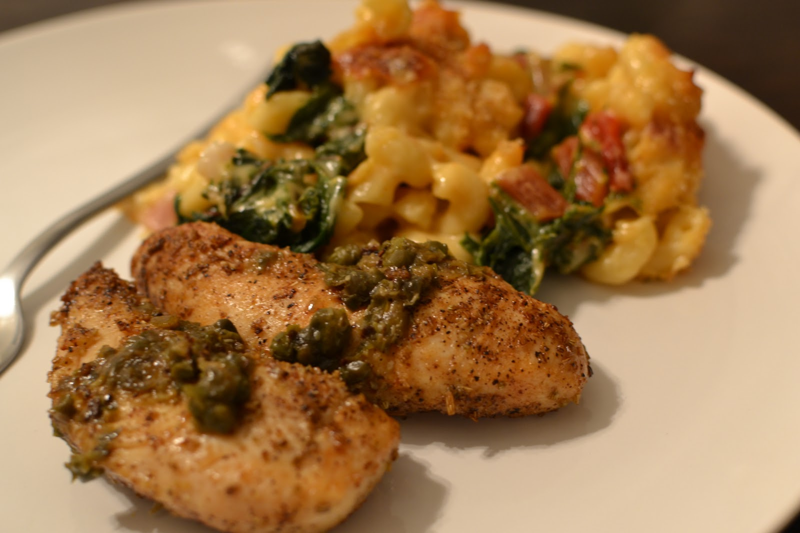emcSquared: week 1 - chicken with capers