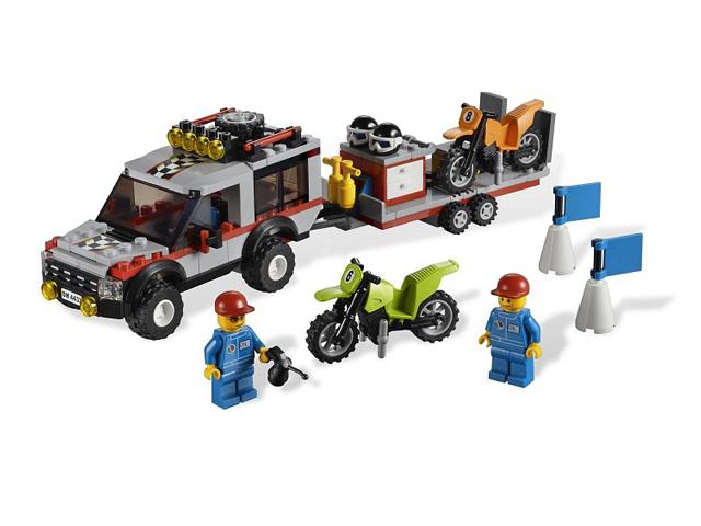 LEGO シティ タウン 4WDバイクキャリアー 4433