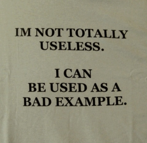Not Totally Useless