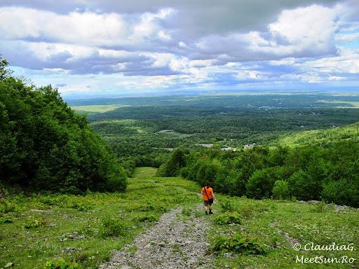 Tura la munte in Canada. Mont Orford.