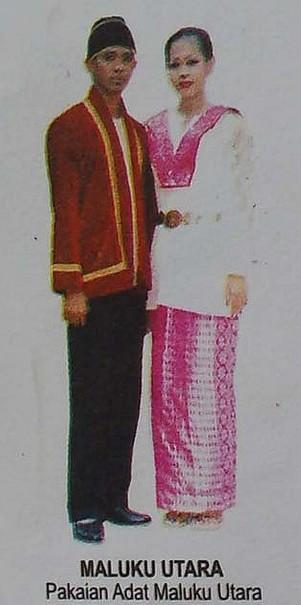 Pakaian Adat Maluku Utara