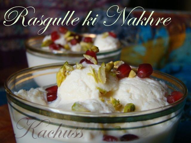 Kachuss delights rasgulle ki nakhre recipe courtesy sanjeev kapoor forumfinder Gallery