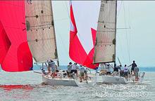 J/111 one-design racing sailboats