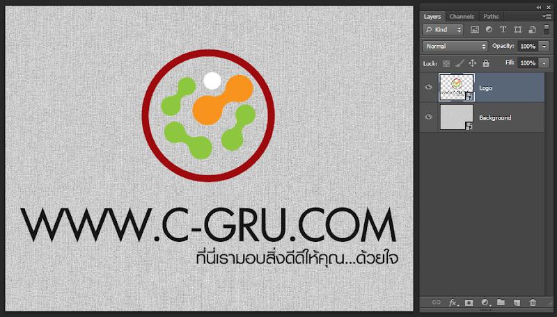 เทคนิคการทำภาพ Logo แนวลายปักเสมือนจริง Emb_logo04