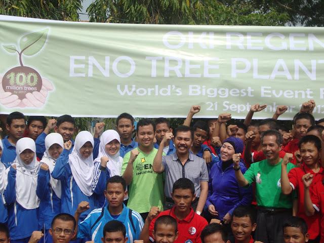 ENO Tree Planting Day September 2012 - Penanaman 100 Juta Pohon