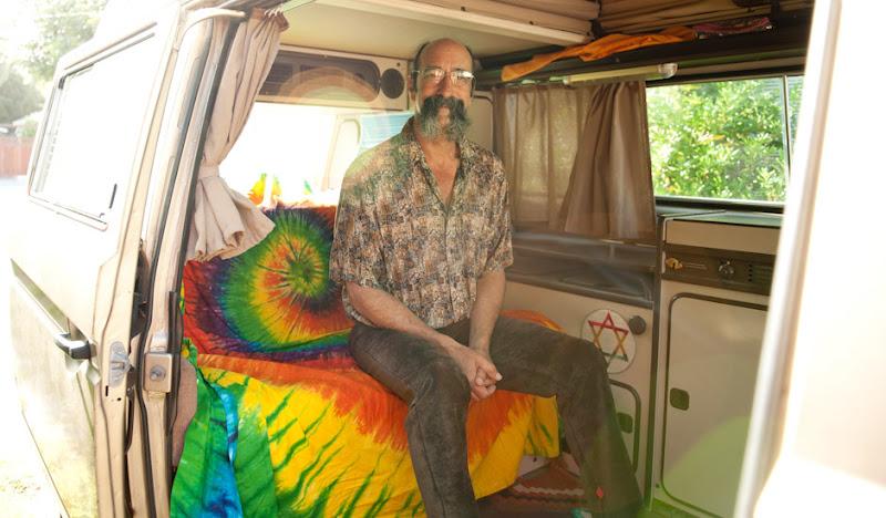 Cocoa Leisurerounds Mustache Man in Van