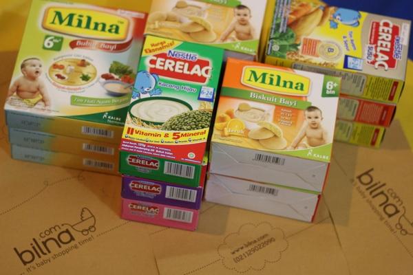 Nestle dan Milna Bubur Bayi