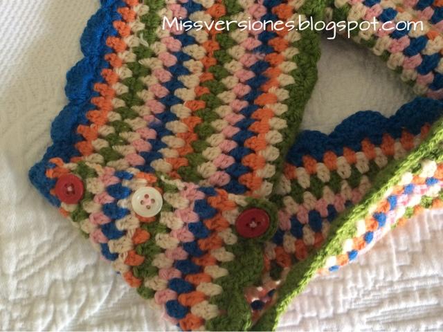Missversiones: Bufanda infinita de ganchillo o infinity scarf