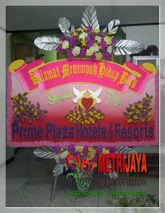 ucapan selamat menempuh hidup baru dari Prime Plaza Hotels & Resorts - Jakarta