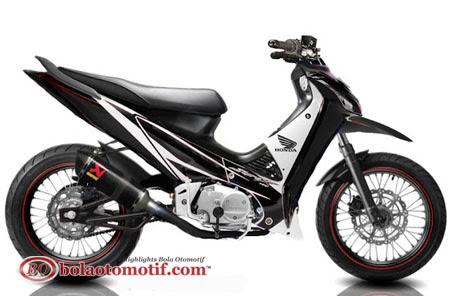 Modifikasi Extriem Motor Honda Supra X 125 h