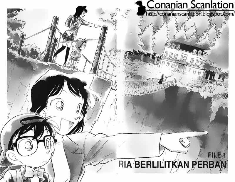 2 3 Detective Conan   040 Pria Berlilitkan Perban