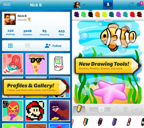 Draw Something 2 Screenshots