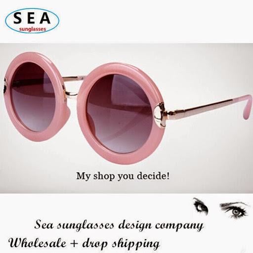 SEA vintage round sunglasses women brand designer gafas