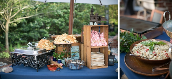 Sweeer Cuisine Catered Their Welcome Dinner While They Had Another Caterer For The Wedding Reception This Was A Great Way To Get An Awesome Variety