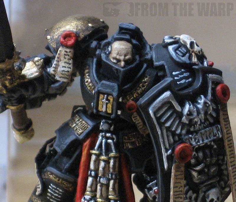 *BITS* Grey Knight Terminators Head M Paladin