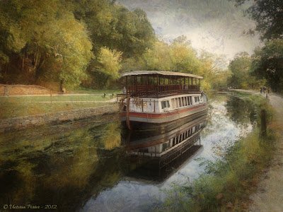 canal boat, final image
