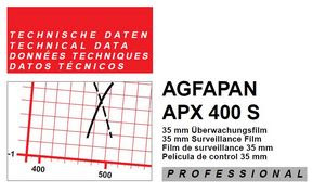 AGFA APX 400 S