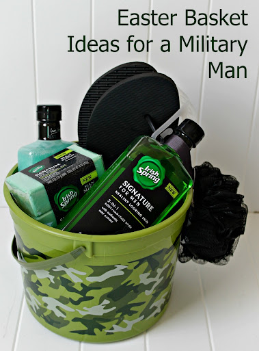 How to tame a military mans man sized smell easter basket ideas for a military man give him shower power with irish spring signature negle Gallery