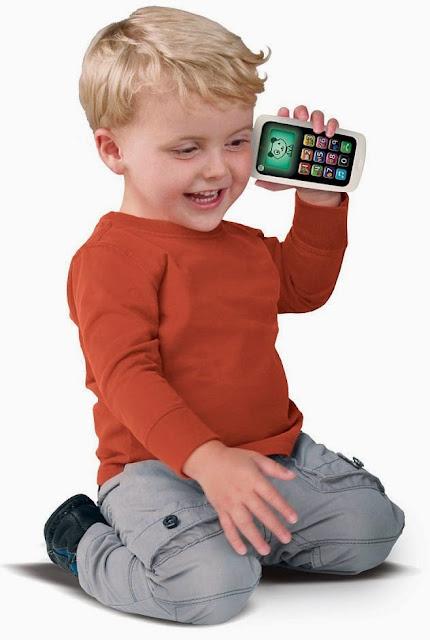 Điện thoại cho bé LeapFrog màu xanh xinh xắn