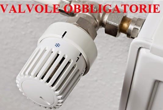 Termosifoni obbligo istallazione valvole termostatiche for Valvole caloriferi