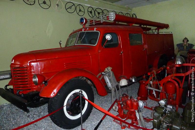 ГАЗ-52-АЦ как пожарная машина