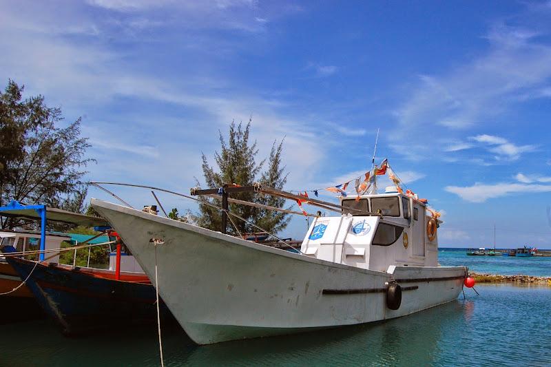Perahu Pulau Tidung