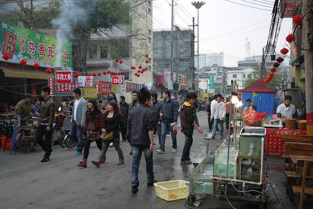 street market in Nanning, China