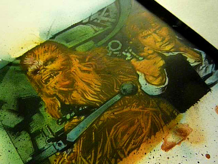 Jeff Lafferty, sketch cards and prints