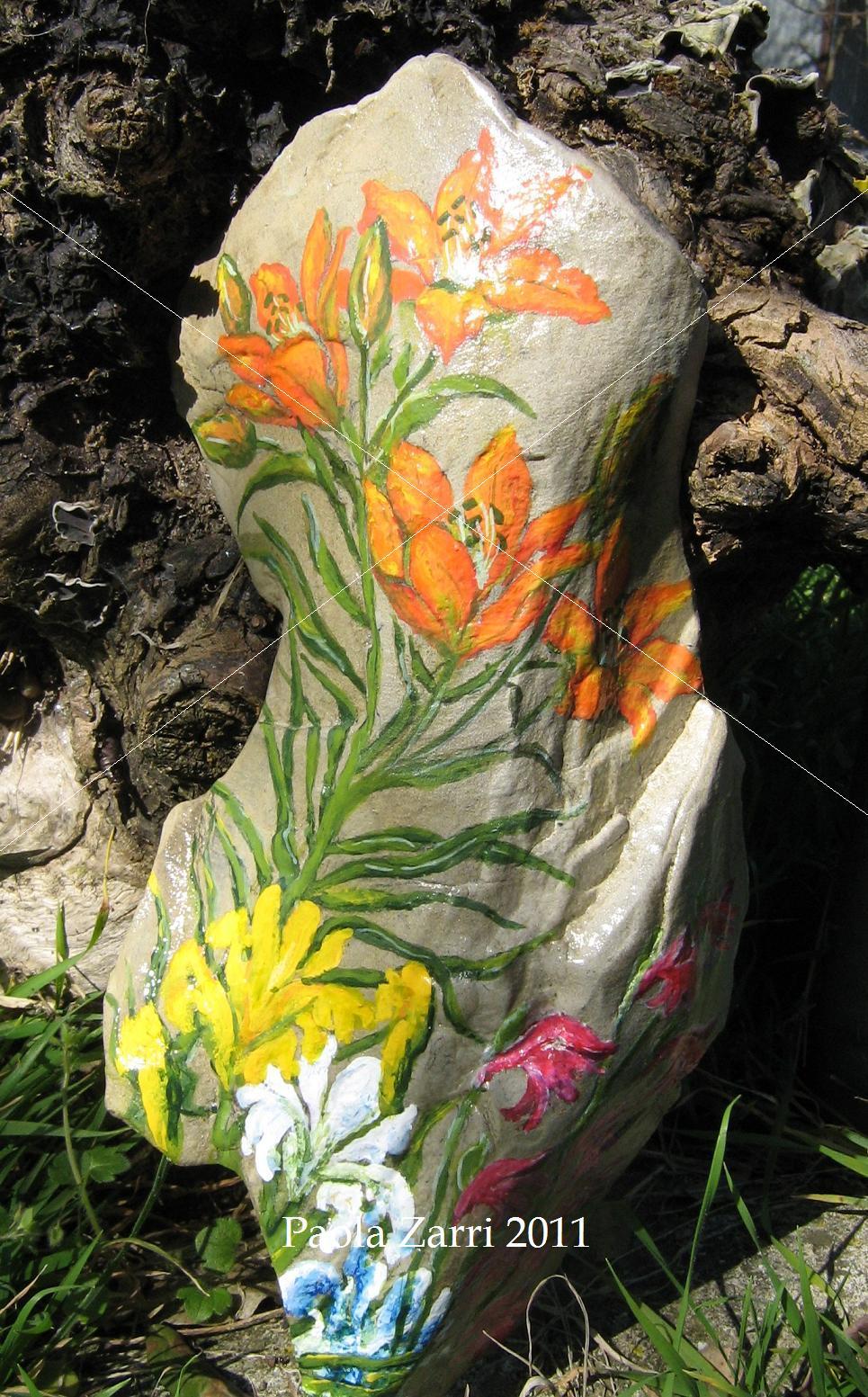 Pzcreazioni i sassi di paola for Giardini decorati