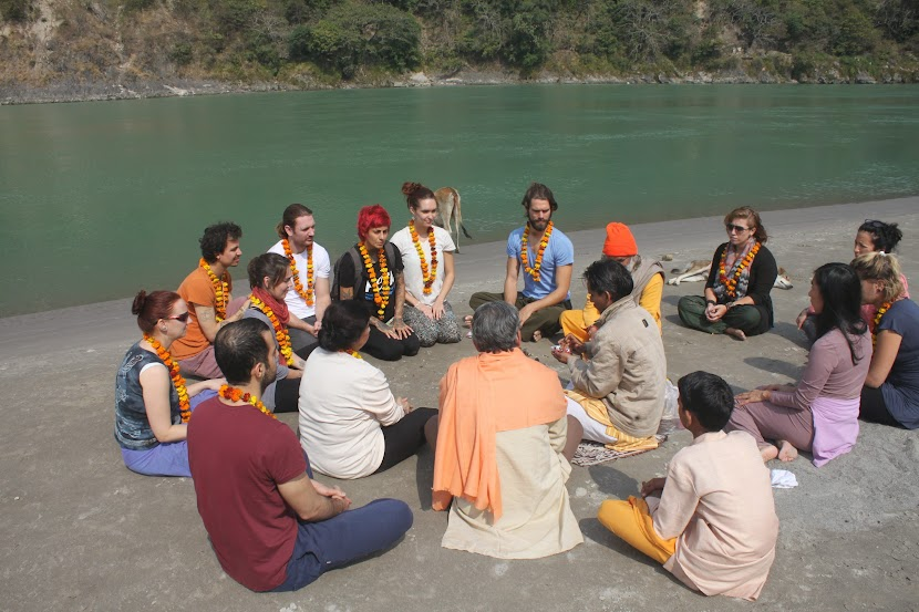 Yajna Puja - Yoga and Meditation Teacher Training Courses Opening Ceremony