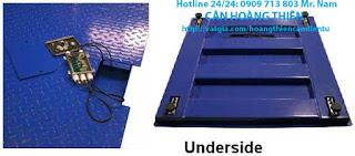 cân sàn điện tử 2 tấn giá tốt tại cân công nghiệp