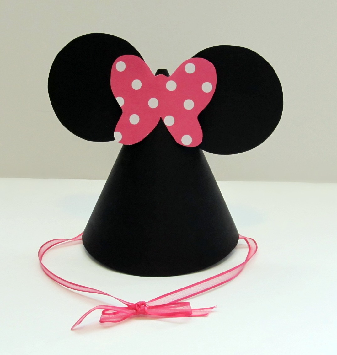 Love Sugar Kisses Tutorial Minnie Mouse Party Hats