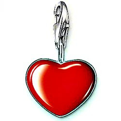 Thomas Sabo red heart charm