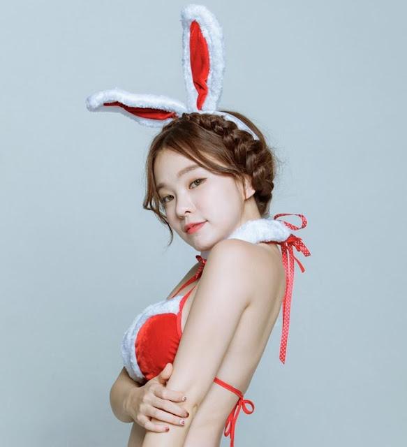 """Xôn xao với thân hình """"nuột nà"""" của nữ streamer kiêm người mẫu nội y hot nhất Hàn Quốc"""