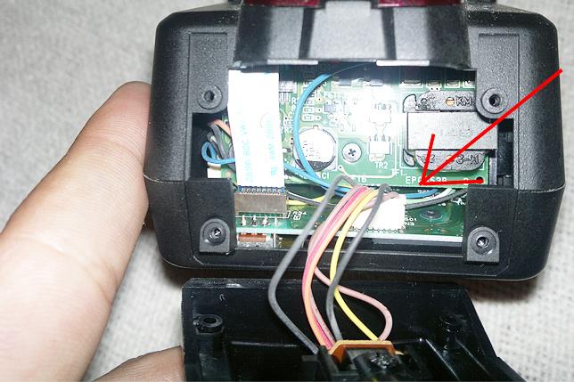 Arreglando la zapata del flash Sigma EF-530 DG Super