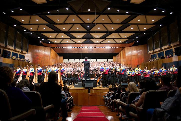 La cita musical contó con la participación de jóvenes guariqueños pertenecientes al Programa Alma Llanera, quienes interpretaron Alma llanera y Venezuela, de Herrero y Armenteros