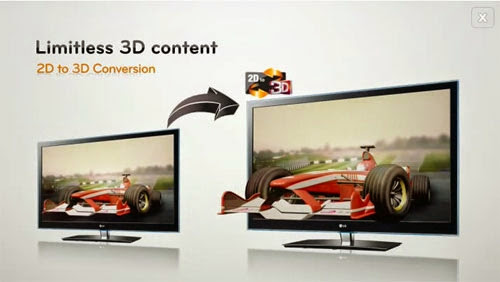 Limitless 3D with 3D LG Cinema 3D Smart TV