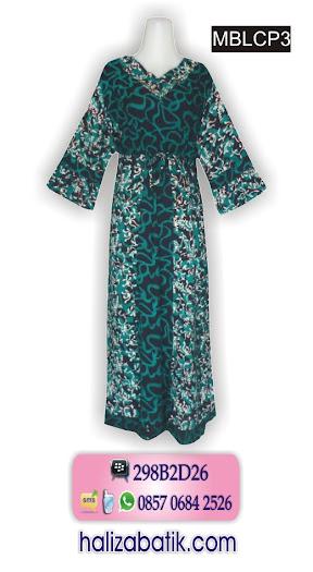 pakaian wanita, gambar model baju batik, baju batik wanita modern