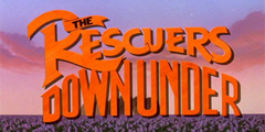 86. The Rescuers Down Under