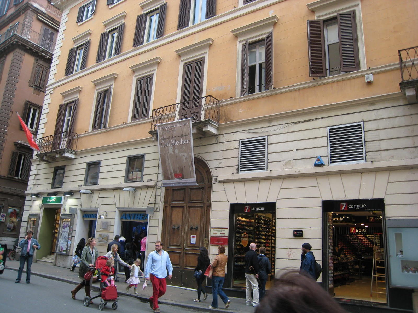 sports shoes d5a0e ace47 Rome the Second Time: Walking in Goethe's footsteps: home in ...