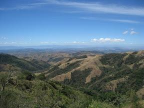 Vue vers la péninsule de Guanacaste