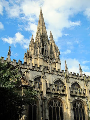 Historic building in Oxford England