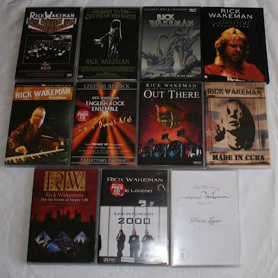 DVDs de Rick Wakeman
