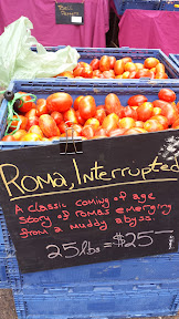 Portland Farmers Market at PSU, Roma Tomatoes Interrupted