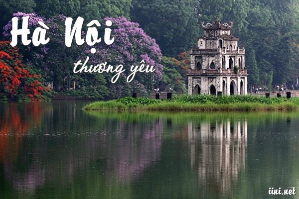 thơ 8 chữ viết về Hà Nội